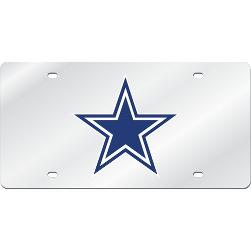 Stockdale Dallas Cowboys Mirror License Plate
