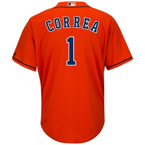Display product reviews for Majestic Men's Houston Astros Carlos Correa #1 Cool Base® Replica Jersey