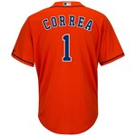 Majestic Men's Houston Astros Carlos Correa #1 Cool Base Replica Jersey