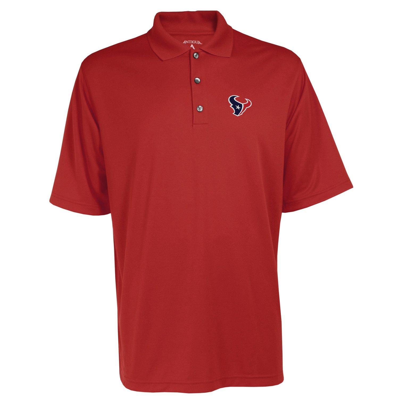 Antigua men 39 s houston texans exceed polo shirt academy for Houston texans polo shirt