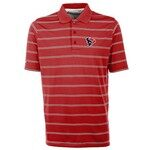 Antigua Men's Houston Texans Deluxe Polo Shirt