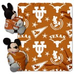 The Northwest Company University of Texas Mickey Mouse Hugger and Fleece Throw Set