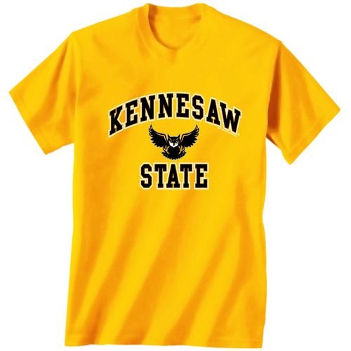 New World Graphics Men's Kennesaw State University Arch Mascot T-shirt