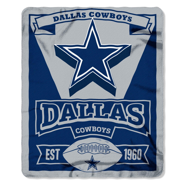 The Northwest Company Dallas Cowboys Marquee Fleece Throw