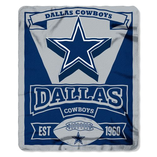 The Northwest Company Dallas Cowboys Marquee Fleece Throw