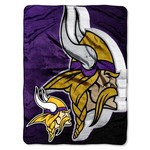 The Northwest Company Minnesota Vikings Bevel Micro Raschel Throw