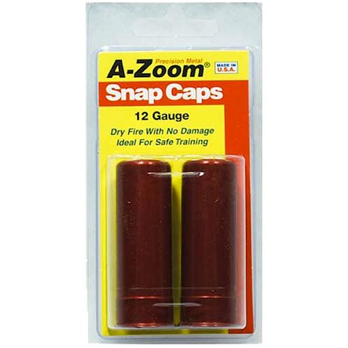 A-Zoom 12 Gauge Aluminum Snap Caps 2-Pack