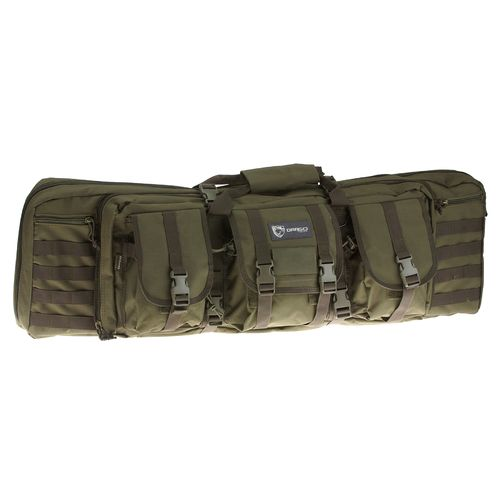 "Drago Gear 42"" Double Gun Case-Green"