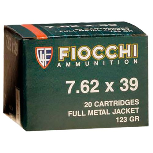 Fiocchi Rifle Shooting Dynamics 7.62 x 39 123-Grain Full Metal Jacket Centerfire Rifle Ammunition
