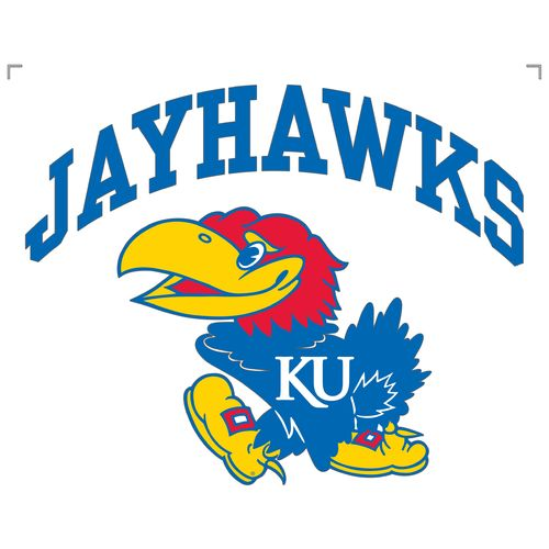 "Stockdale University of Kansas 8"" x 8"" Vinyl Die-Cut Decal"