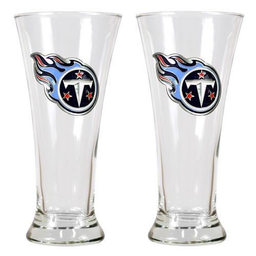 Great American Products Tennessee Titans 19 oz. Pilsner Glasses 2-Pack