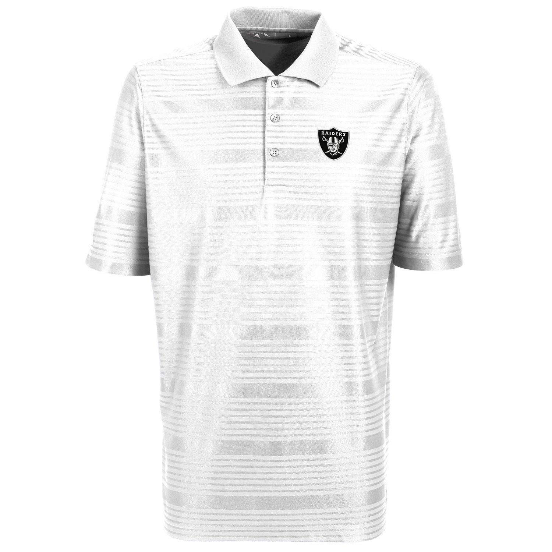 Antigua Men's Oakland Raiders Illusion Polo Shirt