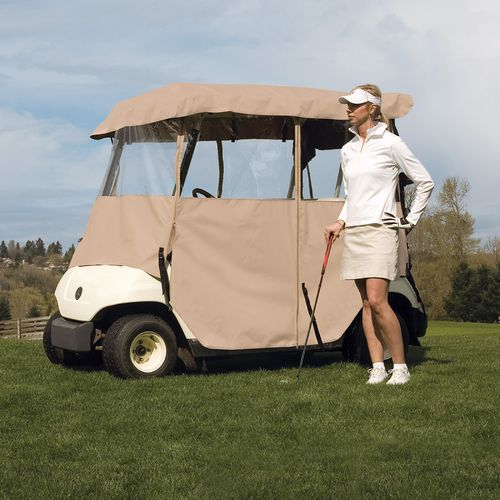 Classic Accessories Fairway Deluxe 4-Sided Golf Cart Enclosure - view number 6