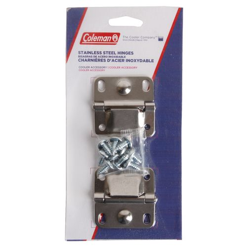 Display product reviews for Coleman® Stainless Steel Cooler Hinges