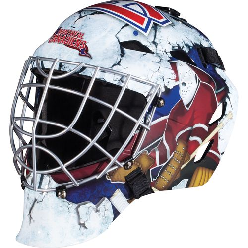 Franklin Boys' Montreal Canadiens GFM 1500 Goalie Face