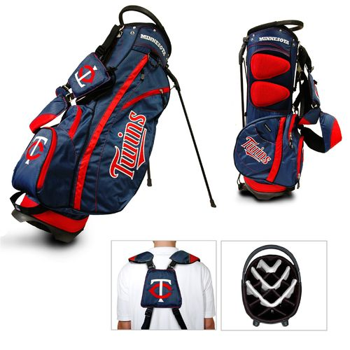 Team Golf Minnesota Twins Fairway 14-Way Stand Golf Bag