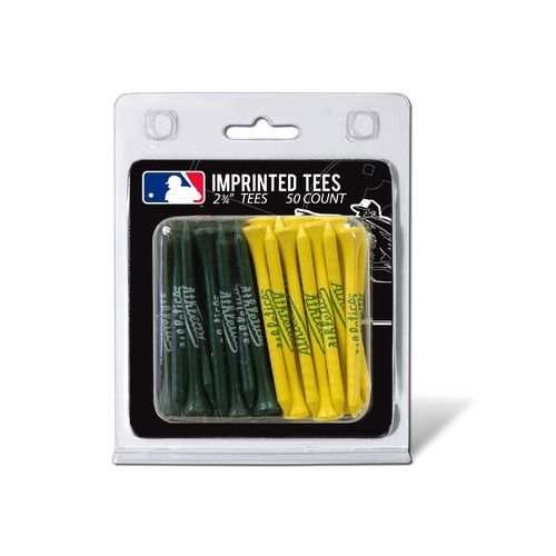 Team Golf Oakland Athletics Golf Tees 50-Pack - view number 1