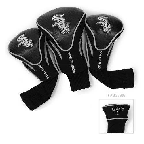 Team Golf Chicago White Sox Contour Sock Head Covers 3-Pack