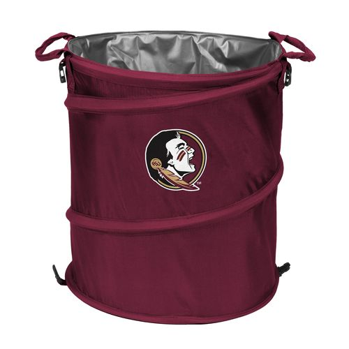 Logo™ Florida State University Collapsible 3-in-1 Cooler/Hamper/Wastebasket - view number 1