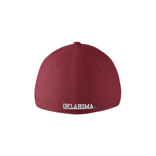 Nike™ Adults' University of Oklahoma Swoosh Flex Cap - view number 2