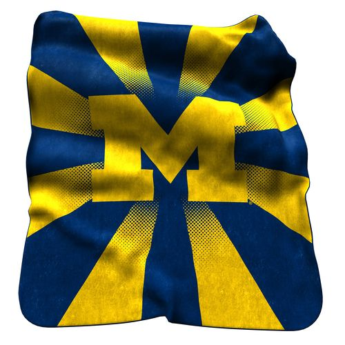 Logo™ University of Michigan Raschel Throw