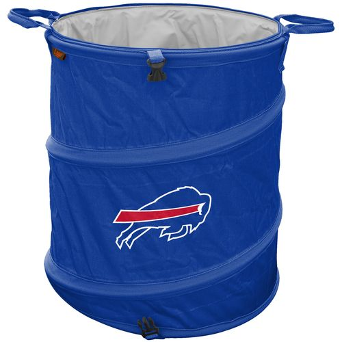 Logo Buffalo Bills Collapsible 3-in-1 Cooler/Hamper/Wastebasket