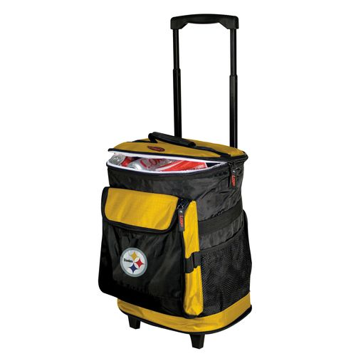 Logo™ Pittsburgh Steelers Rolling Cooler - view number 1