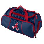 Logo Atlanta Braves Athletic Duffel Bag