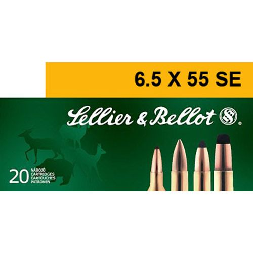 Sellier & Bellot Soft-Point Centerfire Rifle Ammunition - view number 1