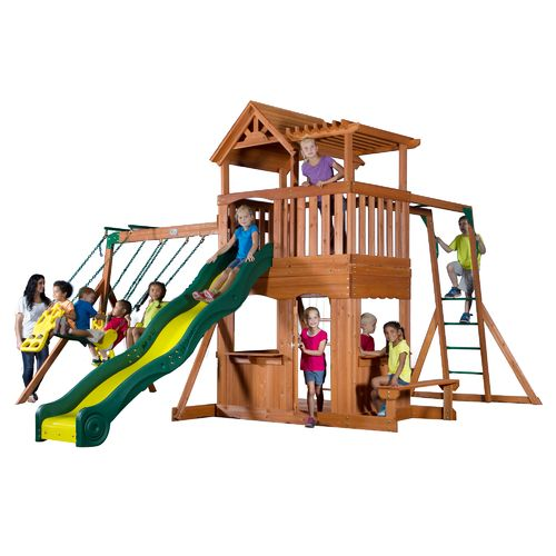 752113362147 Upc Thunder Ridge Cedar Swing Set Play Set Upc Lookup
