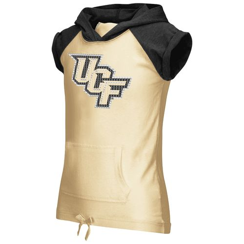Colosseum Athletics Girls' University of Central Florida Jewel Short Sleeve Hoodie
