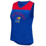 Colosseum Athletics Women's University of Kansas Kiss Cam Tank Top
