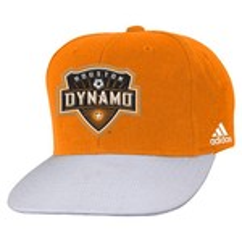 adidas™ Kids' Houston Dynamo Flat Visor 2-Tone Snapback Cap