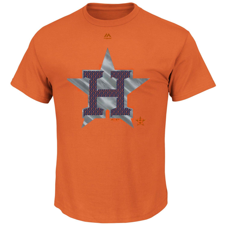 Majestic Men's Houston Astros Push Through T-shirt