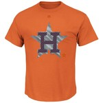 Majestic Men's Houston Astros Push Through T-shirt