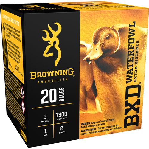 Browning Extra-Distance Steel Waterfowl 20 Gauge Shotshells
