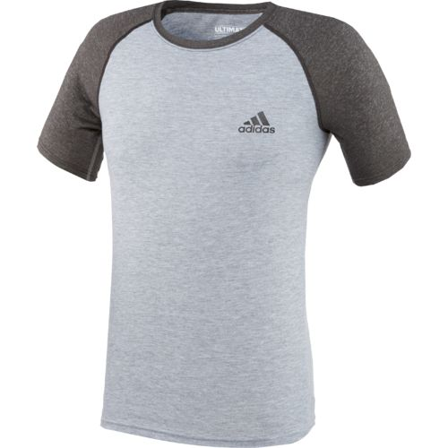 Display product reviews for adidas Men's Ultimate Short Sleeve Crew T-shirt