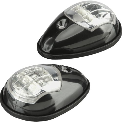 Display product reviews for Marine Raider Side-Mount LED Bow Navigation Lights 2-Pack