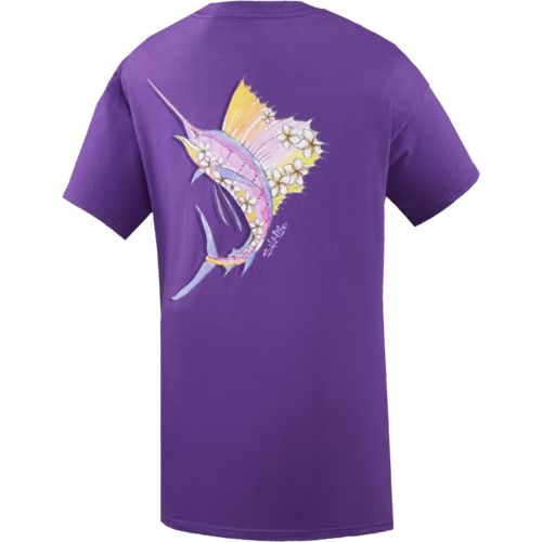 Salt Life™ Juniors' Sunset Sailfish T-shirt