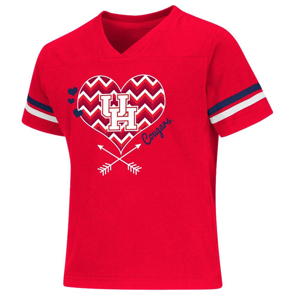 Colosseum Athletics Girls' University of Houston Football Fan T-shirt
