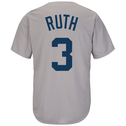Majestic Men's Boston Red Sox Babe Ruth #3 Cooperstown Cool Base 1969 Replica Jersey