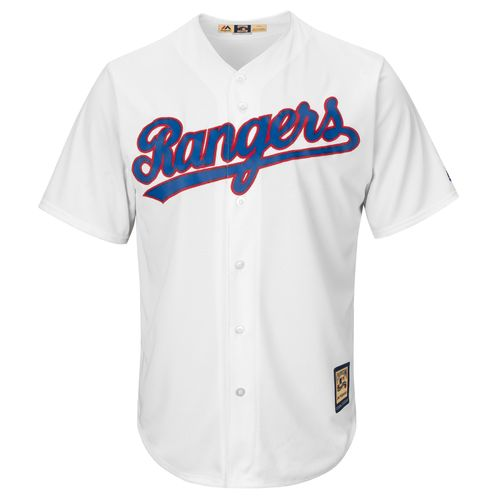 Majestic Men's Texas Rangers Cole Hamels #35 Cooperstown Cool Base Replica Jersey - view number 2