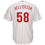 Majestic Men's Philadelphia Phillies Jeremy Hellickson #58 Cool Base Replica Jersey