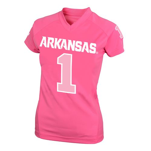 NCAA Kids' University of Arkansas #1 Perf Player T-shirt