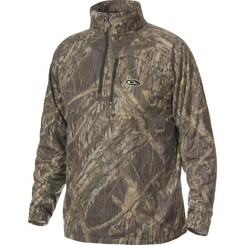 Display product reviews for Drake Waterfowl Men's BreatheLite 1/4 Zip Pullover