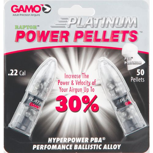 Gamo PBA ARMOR .22 Caliber Air Gun Pellets 50-Pack