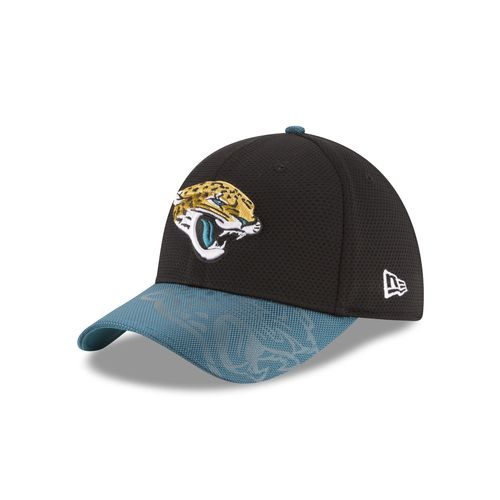New Era Men's Jacksonville Jaguars 39THIRTY Onfield Sideline Cap