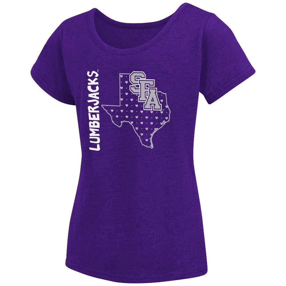 Colosseum Athletics Girls' Stephen F. Austin State University T-shirt