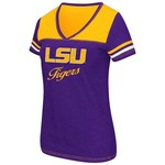 Colosseum Athletics™ Women's Louisiana State University Rhinestone Short Sleeve T-shirt