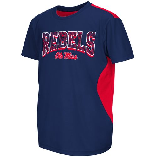 Colosseum Athletics™ Boys' University of Mississippi Short Sleeve T-shirt - view number 1